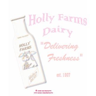 Holly Farms Dairy shirt