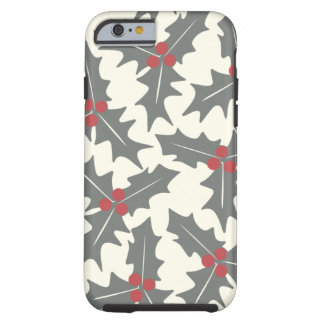 Holly Floral Pattern iPhone 6 Case