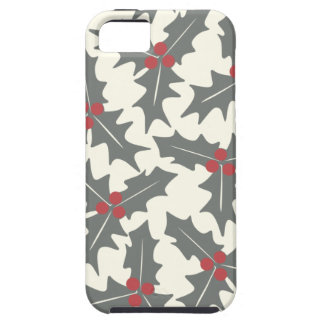 Holly Floral Pattern iPhone 5/5S Covers