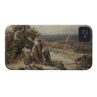 Holly Gatherers w c and bodycolour iPhone 4 Cover