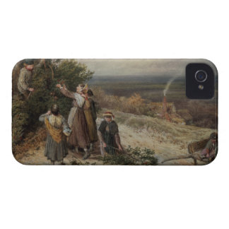Holly Gatherers w c and bodycolour Blackberry Bold Cover
