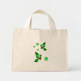 Holly Green Mini Tote Bag