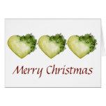 Holly Heart - Christmas Card