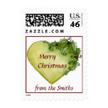 Holly Hearts Postage