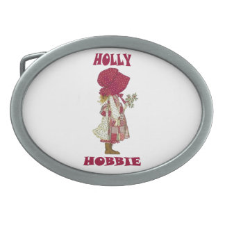 HoLLY HoBBiE Oval Belt Buckles