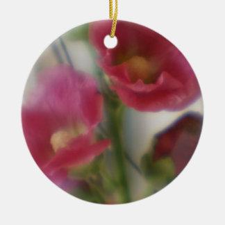 Holly Hocks Ornament