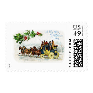 Holly, Horses and Stagecoach Postage