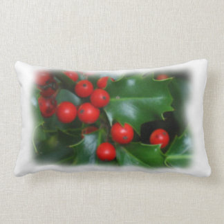 Holly in the Mist Pillow