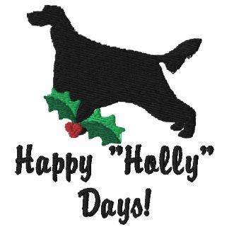 Holly Irish Setter Embroidered Shirt (Long Sleeve)
