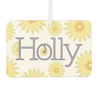 "Holly ""Isn't Life Daisy"" Design Car Air Freshener"