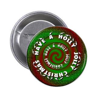 Holly Jolly Button