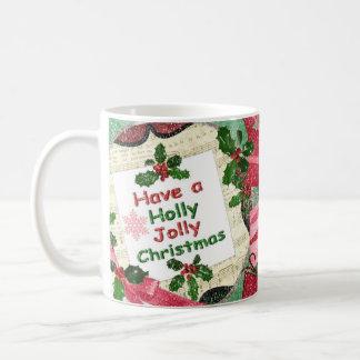 Holly Jolly Christmas Coffee Mug