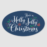 Holly Jolly Christmas   Holiday Stickers