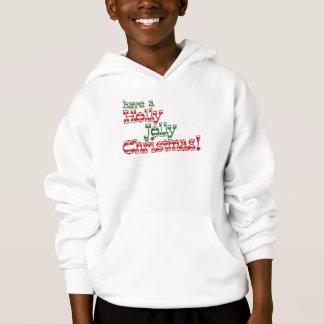 Holly Jolly Christmas Hoodie