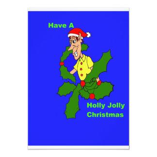 Holly Jolly Christmas Invitation