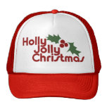Holly Jolly Christmas Mesh Hats
