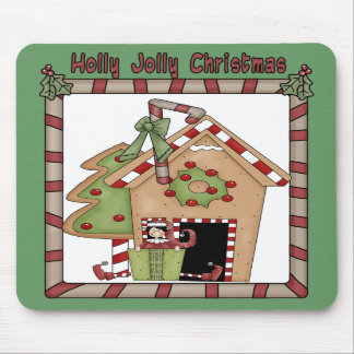 Holly Jolly Christmas Mouse Pads