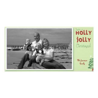 Holly Jolly Christmas Photo Card