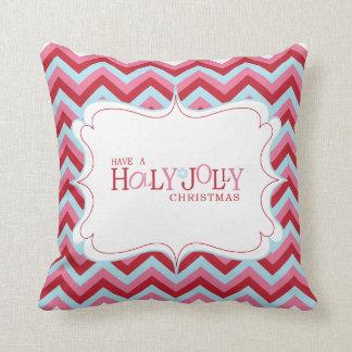 Holly Jolly Christmas Pillow