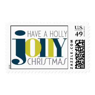 HOLLY JOLLY CHRISTMAS Postage