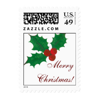 Holly Jolly Christmas! Postage