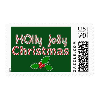 Holly Jolly Christmas Stamp