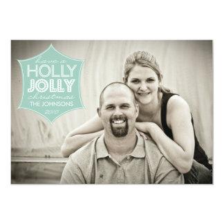 Holly Jolly Holiday Photo Card
