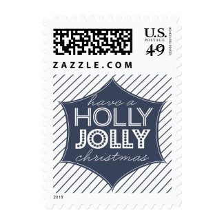 Holly Jolly Holiday Postage