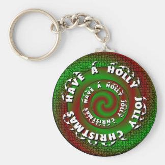 Holly Jolly Key Chain