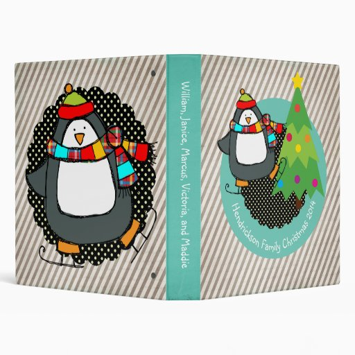 Holly Jolly Penguins - Mobil6000