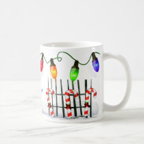 Holly Jolly Snowman  PERSONALIZED Coffee Mug