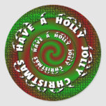 Holly Jolly Sticker