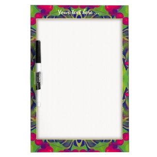 Holly Kaleidoscope Dry Erase Whiteboard