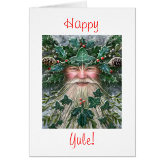 Holly King Greeting Card