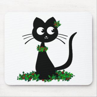Holly Kuro Mouse Pad