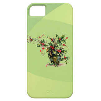 Holly Leaves Case-Mate iPhone 5 Barely There iPhone SE/5/5s Case