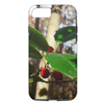 Holly Leaves I Holiday Christmas Nature Botanical iPhone 8/7 Case