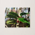 Holly Leaves I Holiday Christmas Nature Botanical Jigsaw Puzzle