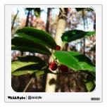 Holly Leaves I Holiday Christmas Nature Botanical Wall Sticker
