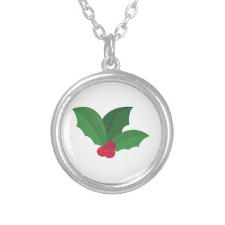 Holly Leaves Custom Necklace