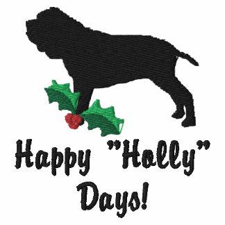 Holly Neapolitan Mastiff Embroidered Shirt