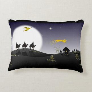 Holly Night Decorative Pillow