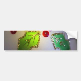 Holly Ornament Bumper Sticker