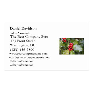 Holly Photo Business Card