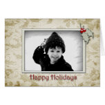 Holly Photo Card