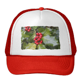 Holly Photo Mesh Hat