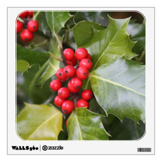Holly Photo Wall Decals