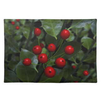 Holly Placemat