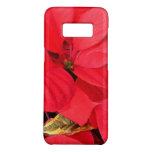 Holly Point Poinsettias Christmas Holiday Floral Case-Mate Samsung Galaxy S8 Case