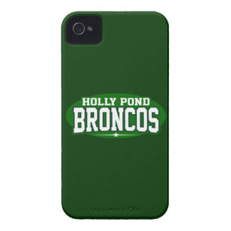 Holly Pond High School; Broncos Case-Mate iPhone 4 Case